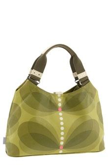 Butterfly Stem Print Classic Bag: I love the Orla Kiely prints.