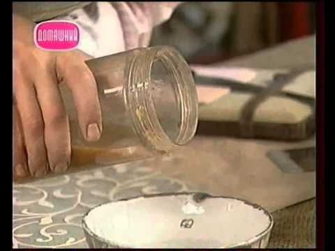 Декоративные страсти с Маратом Ка 2007 Доска объявлений из антикварной рамы