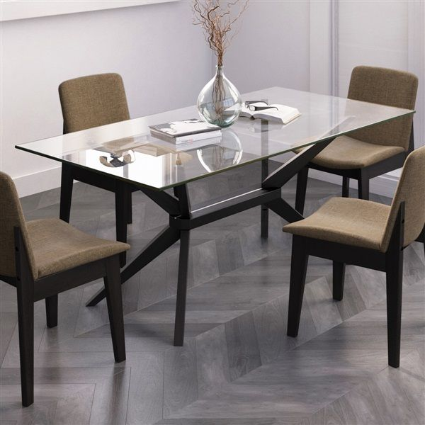 Magna Glass Dining Table Glass Dining Table Rectangle Glass