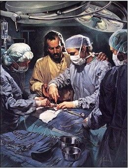 "Nathan Greene Chief Of The Medical Staff Canvas Giclee #NathanGreene #Inspirational. Nathan Greene portrays the ""Great Physician"" as only he can, many doctors and patients alike will quickly attest to the presence of the lord, and the miraculous healing that often occurs when Jesus intervenes in our lives."