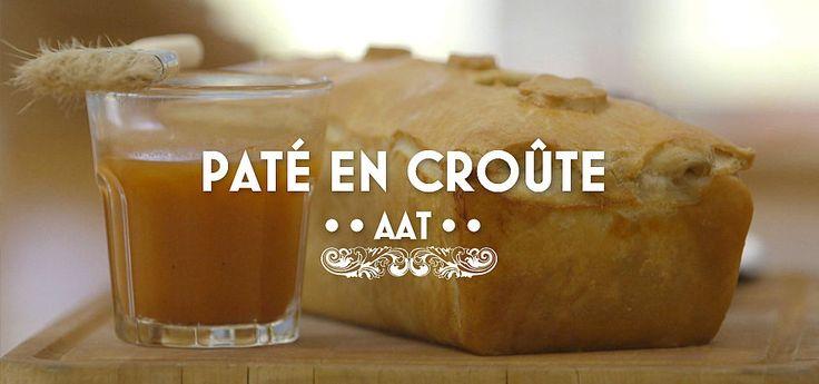 Paté en croûte van kippenlever en kalf met een cranberry compote - Heel Holland Bakt