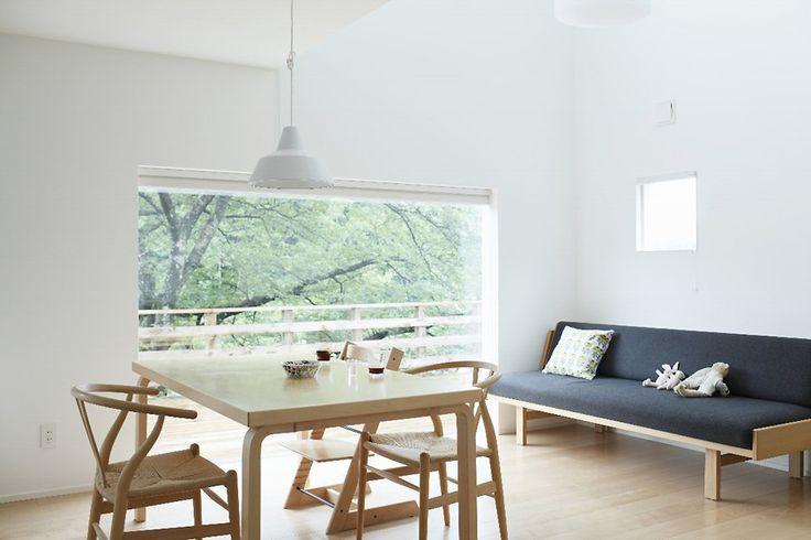 桜の季節にはウッドデッキでお花見を | 施工例のご紹介|無印良品の家
