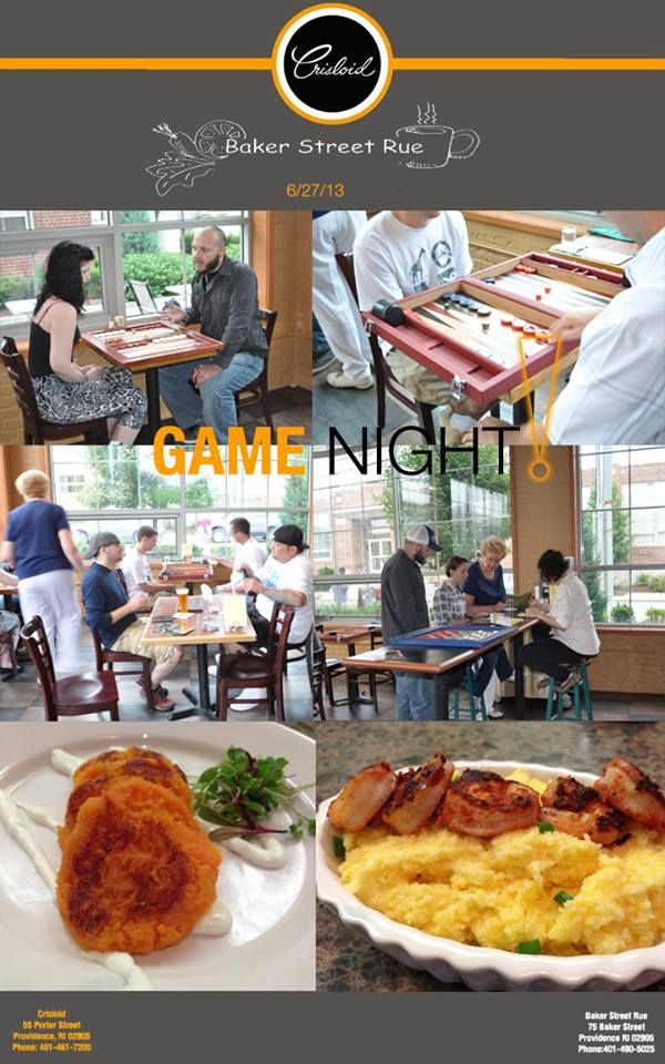 Game Night at Baker Street Rue was a BLAST! Don't miss the next one!