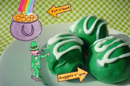 Seeking Sweetness in Everyday Life - CakeSpy - Happy St. Patricks Day, Love CakeSpy