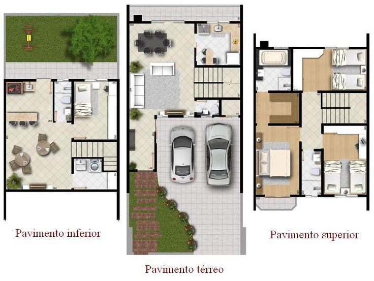 82 best outros images on Pinterest Modern houses, Floor plans and - plan maison plain pied 80m2