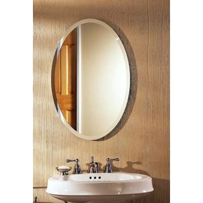 Broan Metro Beveled Frameless Oval Recessed Medicine Cabinet 21 1 4inch W X 3