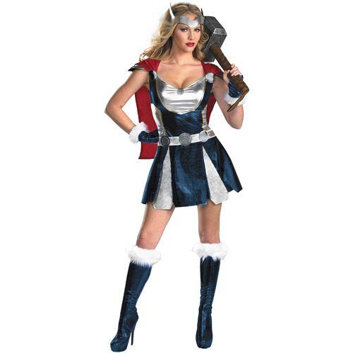 Thor Halloween Costume, Sassy Adult - Walmart.com
