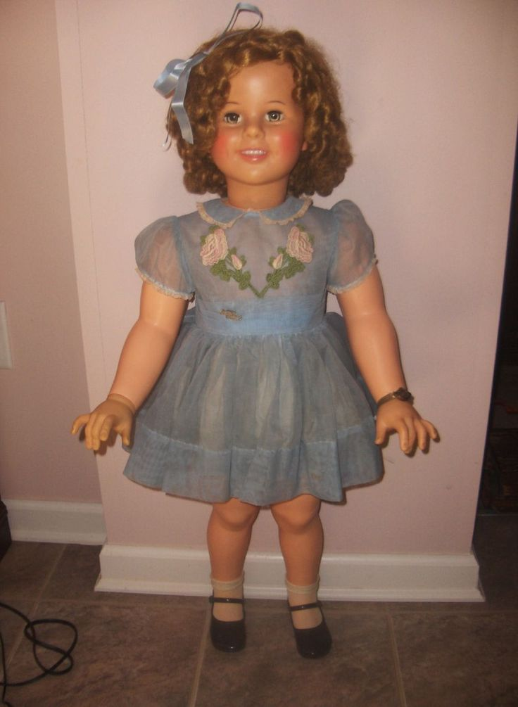 Ideal 35in. Shirley Temple c. 1960 All Original - Excellent Condition
