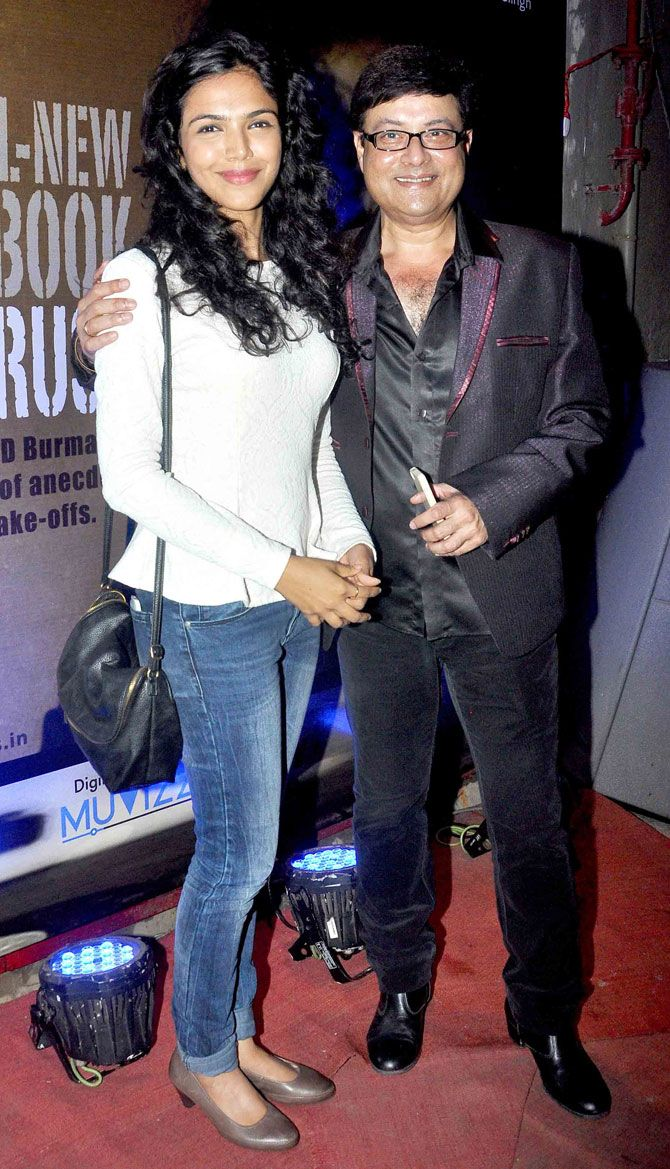 Sachin Pilgaonkar and daughter Shriya at the launch of book on RD Burman, 'Knowing Pancham'. #Bollywood #Fashion #Style #Beauty #Marathi