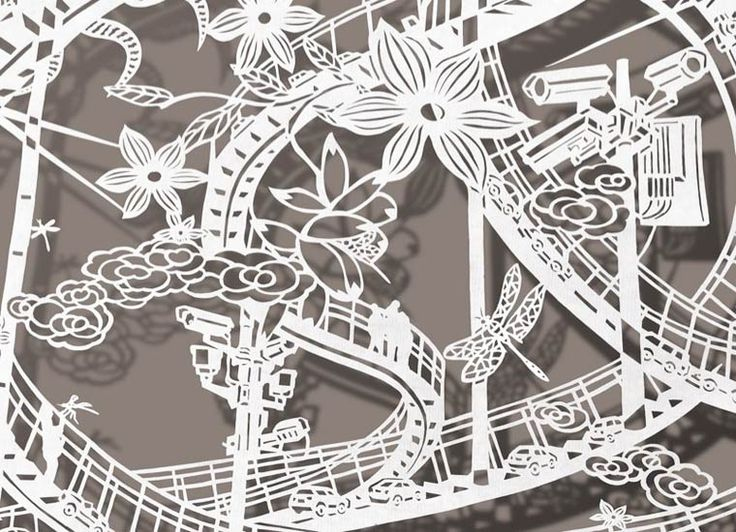 Best Cut Paper Inspiration And Ideas Images On Pinterest Cut - Incredible intricately cut paper designs bovey lee