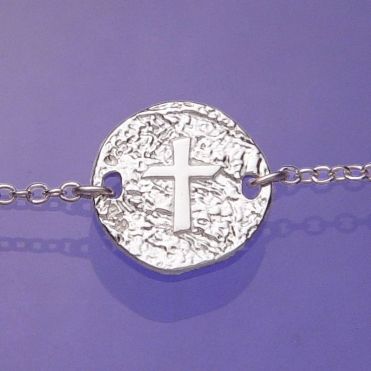 Cross Symbol Sterling Silver Necklace