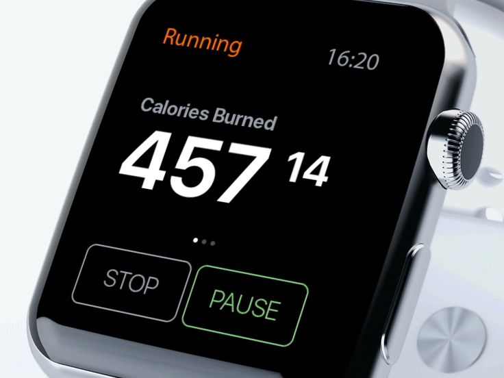 Fitness app for Apple Watch