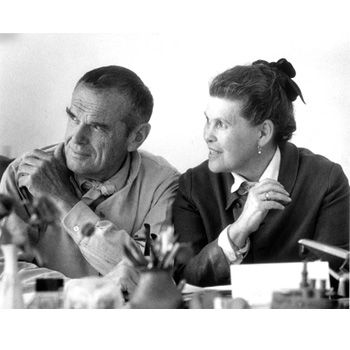 Charles and Ray Eames - Diseñadores.