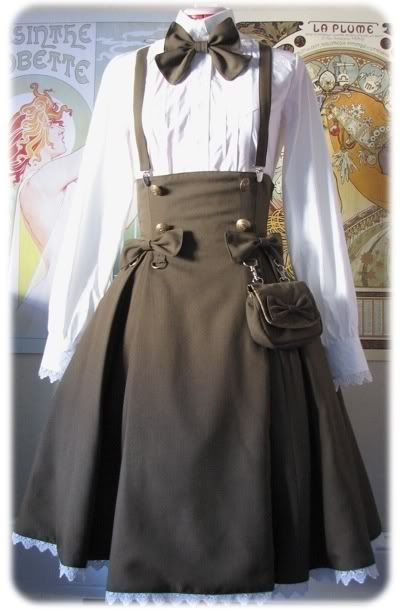Would love to wear this when working in a library or something....Who am I kidding, I would just love to wear it.