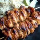 Recipe photo: Peanut chicken satay