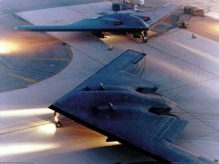 Fonds d'écran Avions Avions militaires B-2 Spirit                                                                                                                                                                                 Plus