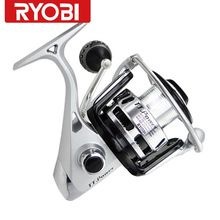 US $81.54 Ryobi Reels TT.Power 8000 6BB 100% original spinning reel Carretilha Pesca Spinning fishing rod and magnetic double brake Pesca. Aliexpress product