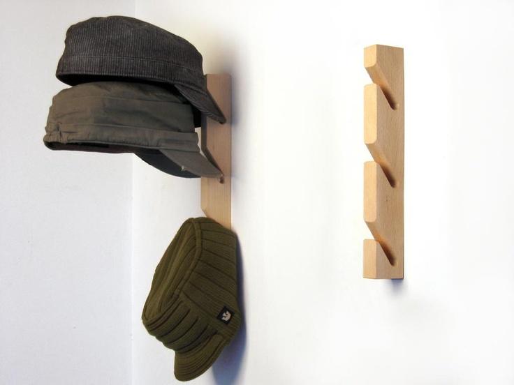 17 mejores ideas sobre colgar sombreros en pinterest - Percheros para sombreros ...