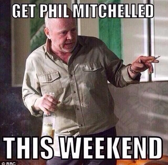 Phil Mitchell ... what a legend !!