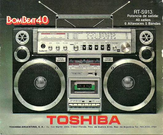 TOSHIBA BomBeat40 www.1001hifi.com