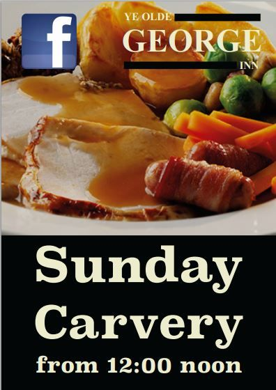 Ye Olde George Inn - Sunday Carvery available from noon!