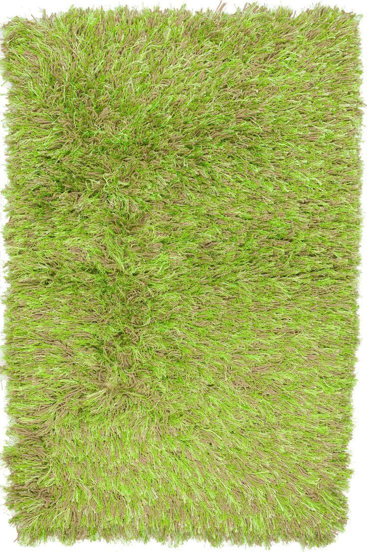 3x4 Neon Green Shag Rug
