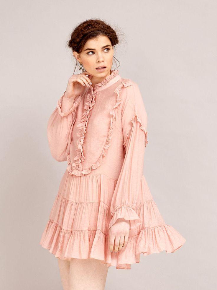 Paloma Ruffle Dress