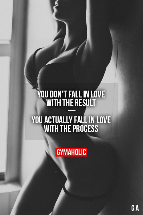 You Don't Fall In Love With The Result More motivation -> http://www.gymaholic.co/ #fit #fitness #fitblr #fitspo #motivation #gym #gymaholic #workouts #nutrition #supplements #muscles #healthy