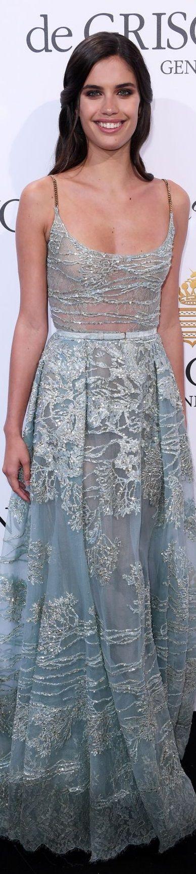 Sara Sampaio in Elie Saab Cannes Film Festival 2017