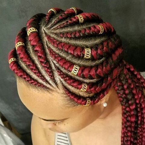 Ghana Weaving All Back Styles : African Hairstyles For Ladies - Maboplus