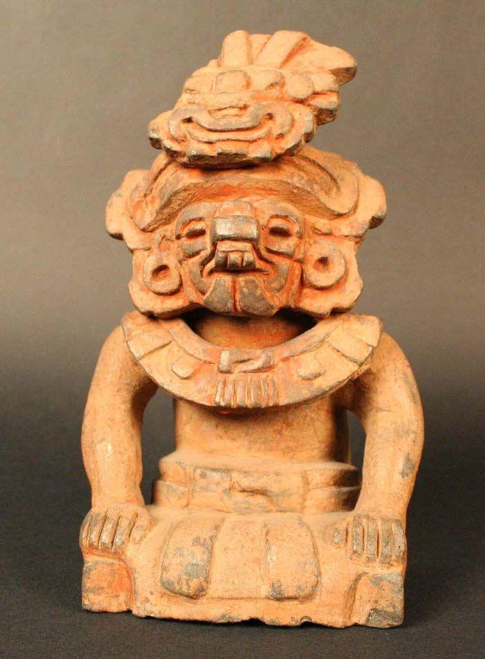 Urna funeraria. Cocijo: Dios de la Lluvia – Museo Chileno de Arte Precolombino Museo Chileno de Arte Precolombino