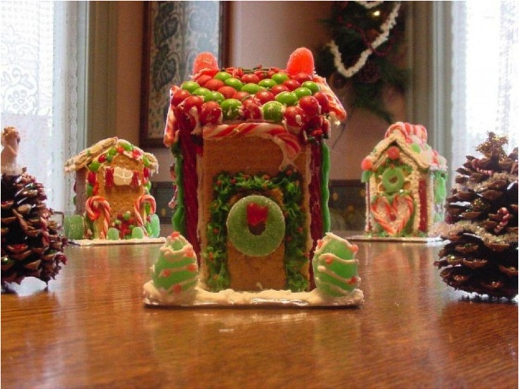 how to build a gingerbread house with graham crackers