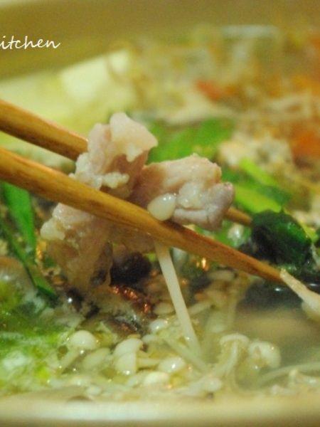 さっぱりヘルシー!!塩モツ鍋 by Mayu* | レシピサイト「Nadia ...