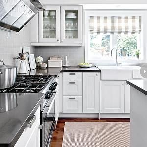 Ikea Kitchen Cabinets, Transitional, kitchen, Style at Home