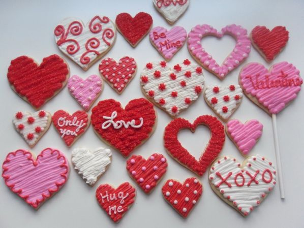 Attractive Cookie Decorating Ideas | Brillinat Valentineu0027s Day Cookie Decorating Ideas  | Ilookstyle . Amazing Pictures