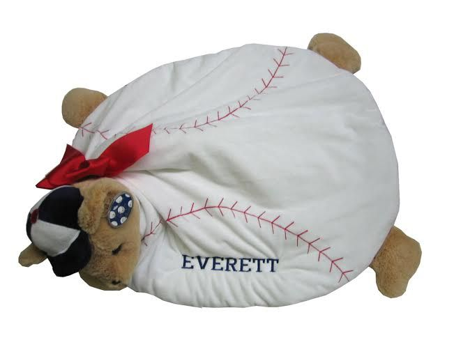 18 best all sports blankets for kids images on pinterest baseball bear belly blanket are perfect for all seasons and make a hit as a baby shower or birth gift negle Image collections