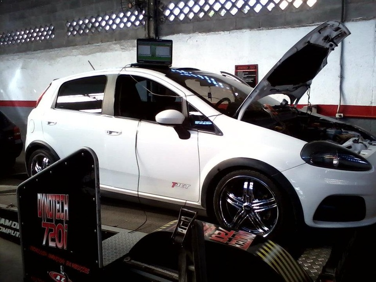 Fiat Punto T-Jet with Perfect Power SMT8 piggy-back. The Fiat Punto increased from 158 to 196HP. These images were sent to us from AMB Motorsport (Perfect Power Dealer in Brazil).
