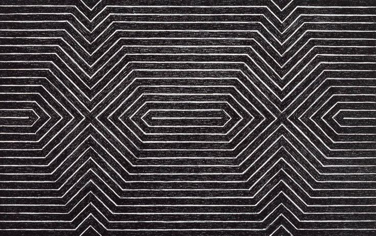 title not known] 1967 by Frank Stella born 1936 | SARTERI