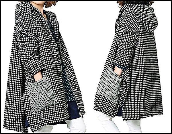 Super estilosa vestindo um casaco feito por você!!!!   Imagem: Amazon    Para quem está começando na arte de modelagem, ou não quer per...