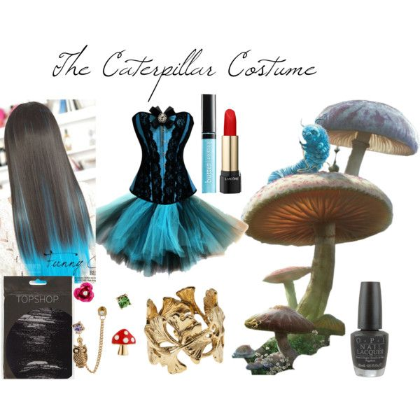 """""""The Caterpillar Costume"""" by laurakhamner on Polyvore"""