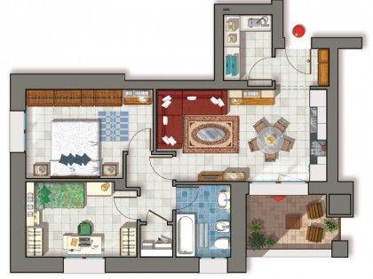 Planimetria appartamento in Castenaso