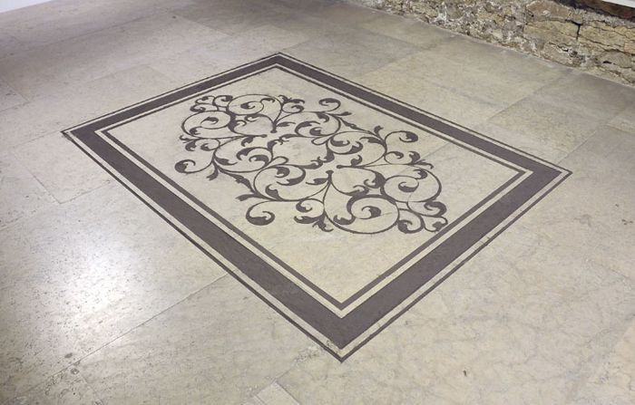 Igor Eskinja, Dust Carpet, Paolo Maria Deanesi Gallery