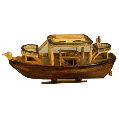 El Yapımı Ahşap Gemi