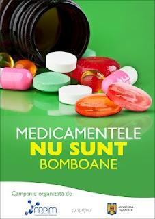 Medicamentele nu sunt bomboane, desi asa am putea crede urmarind reclamele la TV ...