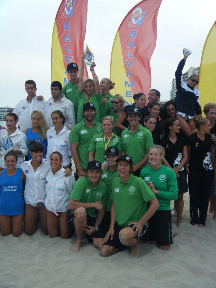 Portreath SLSC European Beach Champions Alicante
