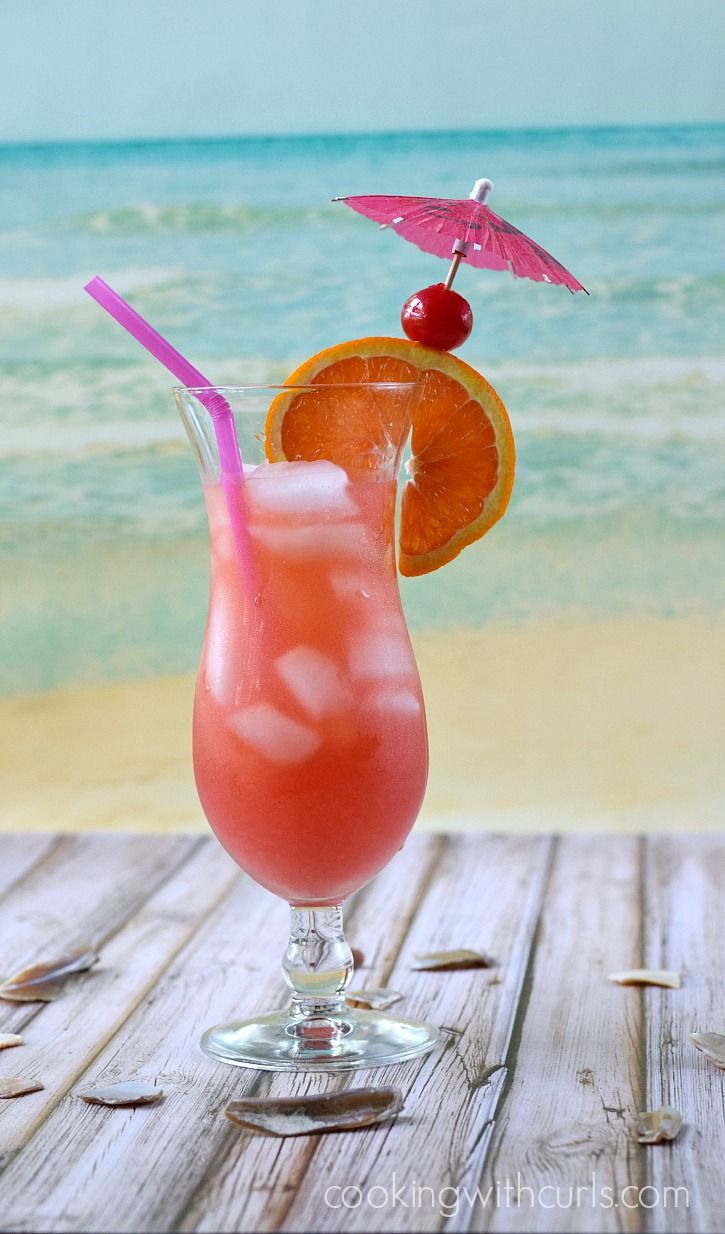 You can almost feel the ocean breeze while you sit back and enjoy a refreshing Bahama Mama cocktail - you're on island time now!
