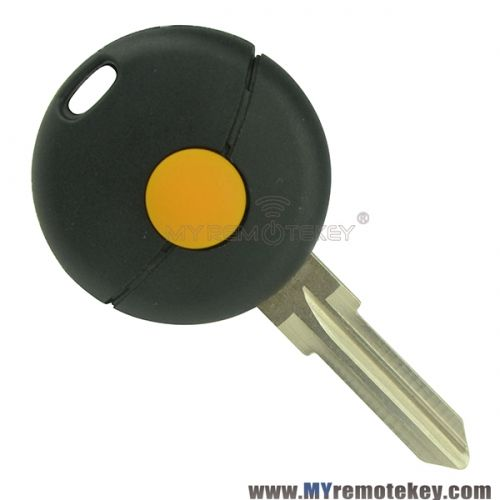 Remote key replace case shell for Mercedes Smart Fortwo 1 button