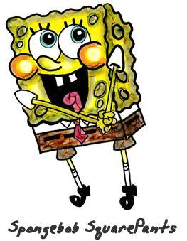 Step by Step Lesson : How to Draw Spongebob Squarepants