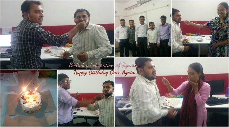 Birthday Celebration in Saturncube