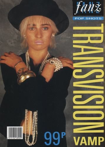 Wendy James on Cover of Fanz Pop Shots Poster Magazine.